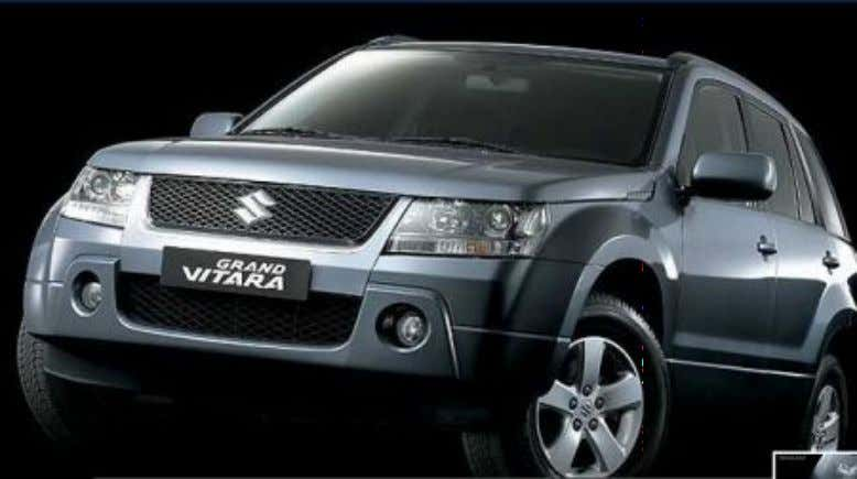 4WD Auto mode 4WD Lock mode Colors Grand vitara is anew segment entered by maruti. Initially