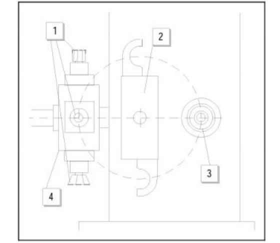 Fig.2a-4.Exampleofachainmagazine. Fig.2a-5.Automatictoolchangefacility: 1.millingtools 2.toolgripper(toolchanger)