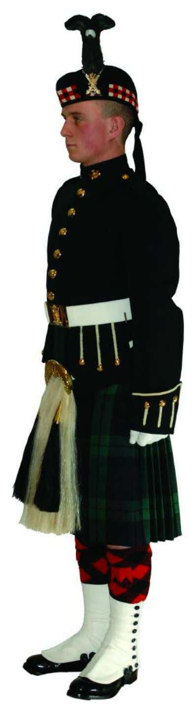 The Royal Regiment of Scotland - Dress Regulations N o. 1B - non Ceremonial 9 11