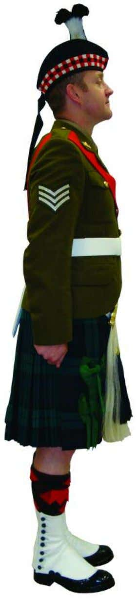 The Royal Regiment of Scotland - Dress Regulations wo/SNCO N o. 2A - Ceremonial 1616