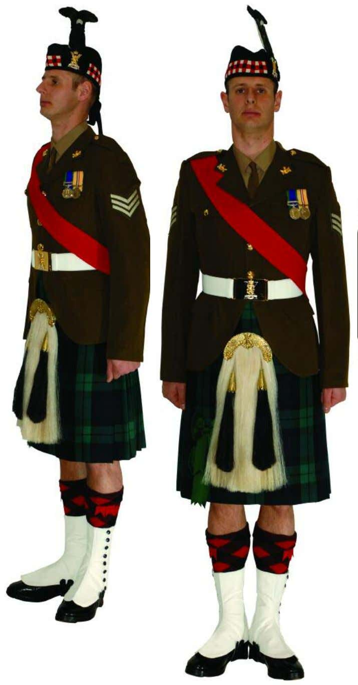 The Royal Regiment of Scotland - Dress Regulations nco N o. 2A - Ceremonial 17