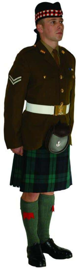 The Royal Regiment of Scotland - Dress Regulations jnco N o. 2b - non Ceremonial 21