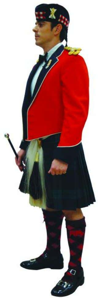 The Royal Regiment of Scotland - Dress Regulations officer N o. 10A - mess dress 27