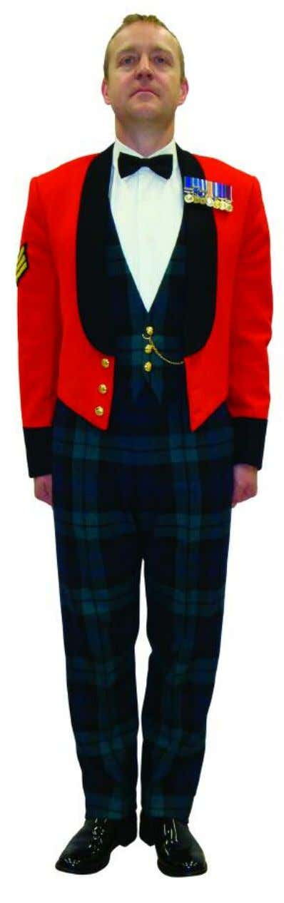 The Royal Regiment of Scotland - Dress Regulations wo2/snco N o. 10b - mess undress 33