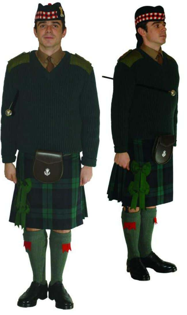 The Royal Regiment of Scotland - Dress Regulations officer N o. 13a - barrack dress 3636