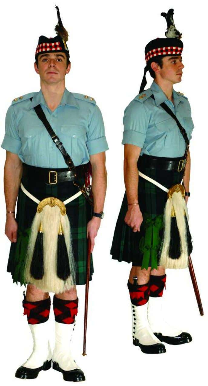 The Royal Regiment of Scotland - Dress Regulations officer N o. 14a - shirt sleeve order