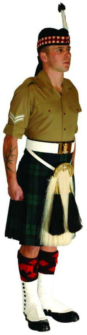 The Royal Regiment of Scotland - Dress Regulations wo/snco/jnco N o. 14a - shirt sleeve order