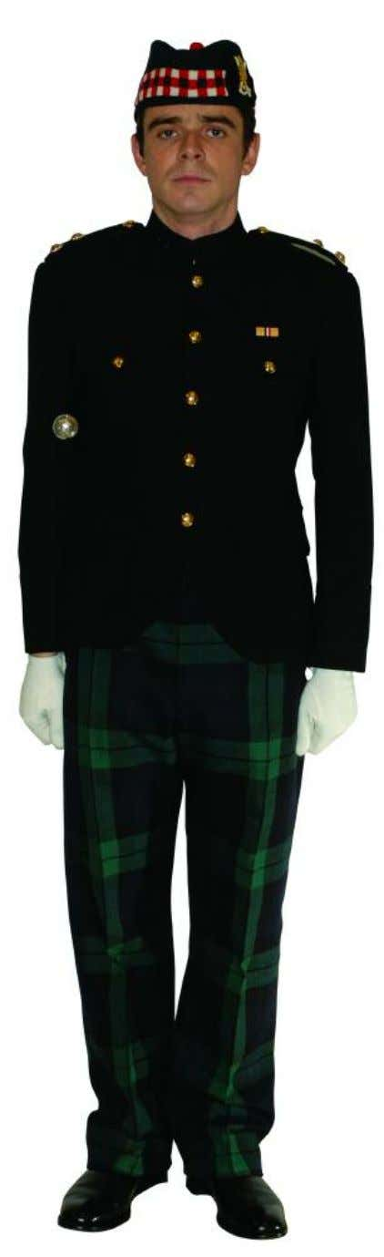 The Royal Regiment of Scotland - Dress Regulations officer N o. 15 dress - blue patrol