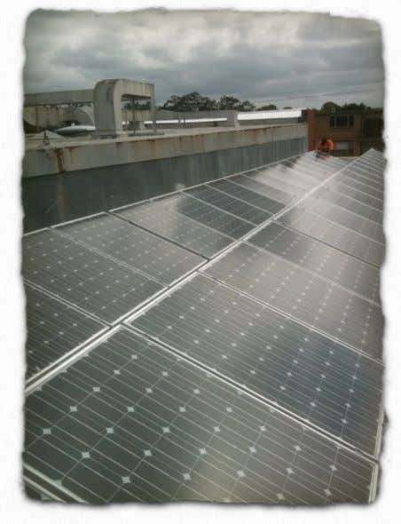 "carbon footprint and reducing our electricity costs to nil. NCEC Solar System 7. Value adding ""Value"