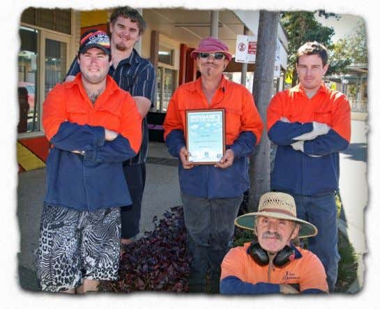 "Festival a huge success "" (Anne Reid Hon. Secretary). NCEC Parks crew win spotless suburb award"