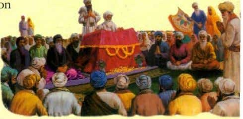 discrimination of caste, creed or high- low in the Sangat. Lailgar It is an institution of