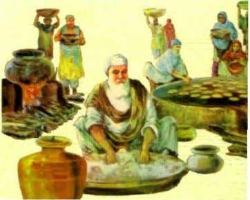 for diners in the Guru ka Langar to sit side by side in a Pangat or