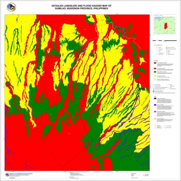 BUKIDNON Figure 4.0 Detailed Landslide and Flood Hazard Map In line with the Presidential Directive and