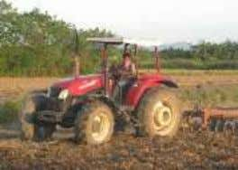 be easily transported to the nearest road when hauling the harvests. Hand Tractor Small Tractor Big