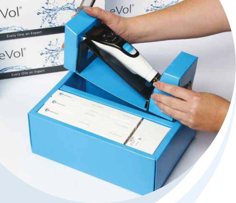 eVol ® and Accessories eVol ® – Digitally Controlled Analytical Syringe 22 eVol ® MEPS