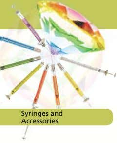 Syringes and Accessories