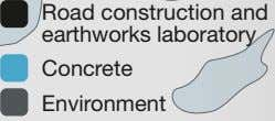 Road construction and earthworks laboratory Concrete Environment