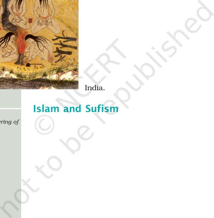 to India. Islam and Sufism