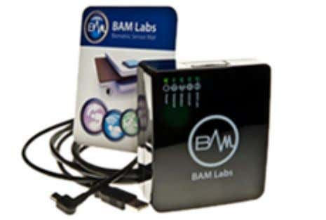and increases the quality of patient care from caregivers. BAM Labs created a biometric sensor that