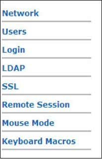 Intel® Remote Management Module 3 User Guide Figure 40. Configuration 7.3.1 Configuring Network Settings The Network