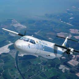 ATR72-500 TheUltraEfficient Standard The ATR 72-500 represents the Latest Generation of turboprop aircraft with