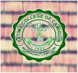 a ` FATIMA COLLEGE OF CAMIGUIN COLLEGE OF EDUCATION MAMBAJAO, CAMIGUIN A Portfolio on Assessment 2
