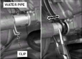 - Stator dan ignition pulse generator - Woodruff key (spie) • Lepaskan keempat baut dan water