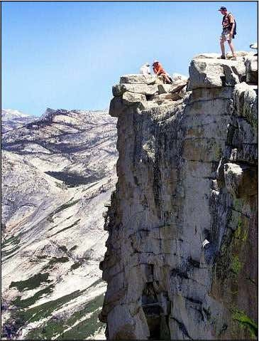 say some people were scalping the $4.50 tickets needed. AP FILE PHOTO A hiker inches towards