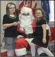 Nancy Krincek; Dorothy Shea Yazurlo; and Rose Siemon. Black Diamond American Legion holds children's Christmas