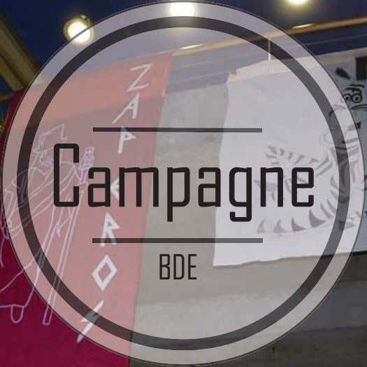 Campagne BDE