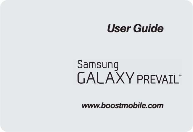 User Guide www.boostmobile.com