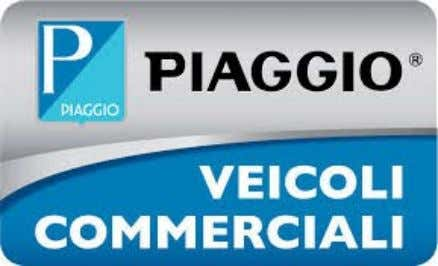 Products: Piaggio Commercial Vehicles Cargoes: ape XTRA, ape XTRA LD, Porter 600, and Porter 1000 Passengers: