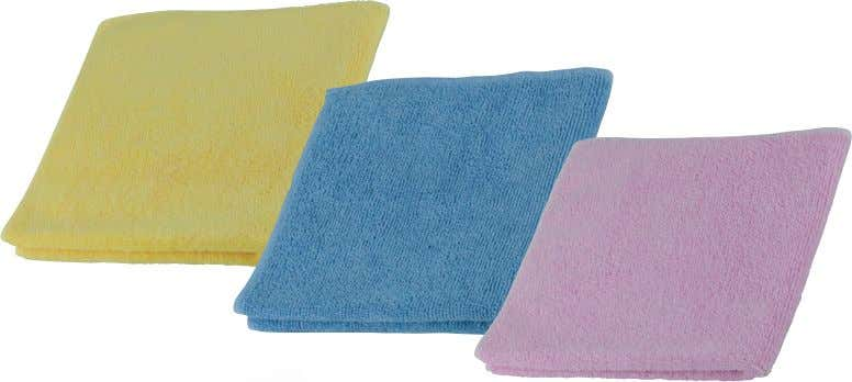 A C D B A. Registry ® Microfiber Cleaning Cloths A great choice for dusting and