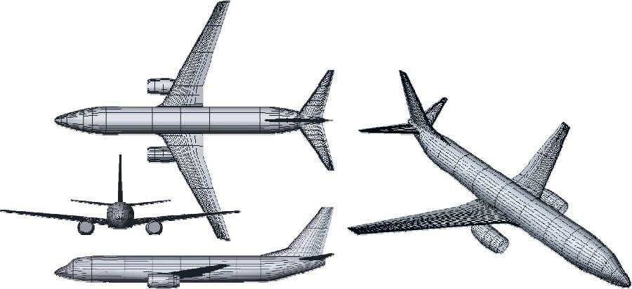 calculation and for all parametric trade studies and notional concepts described below. figure 3. Boeing 737