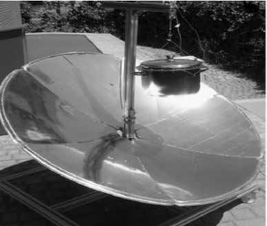 dish type solar cooker with PCM (Lecuona et al., 2013). Duratherm FG was used as heat