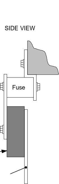 SIDE VIEW Fuse