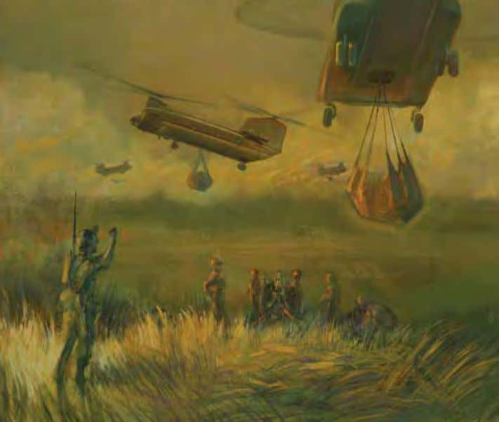 Instant Support (alternate title Big Support ) by Burdell moody Vietnam, 28 December 1967 Oil