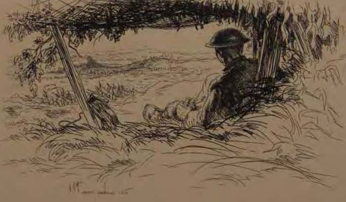 surveys the landscape during the meuse- Argonne offensive. Checking It Out by Theodore J. Abraham Vietnam,