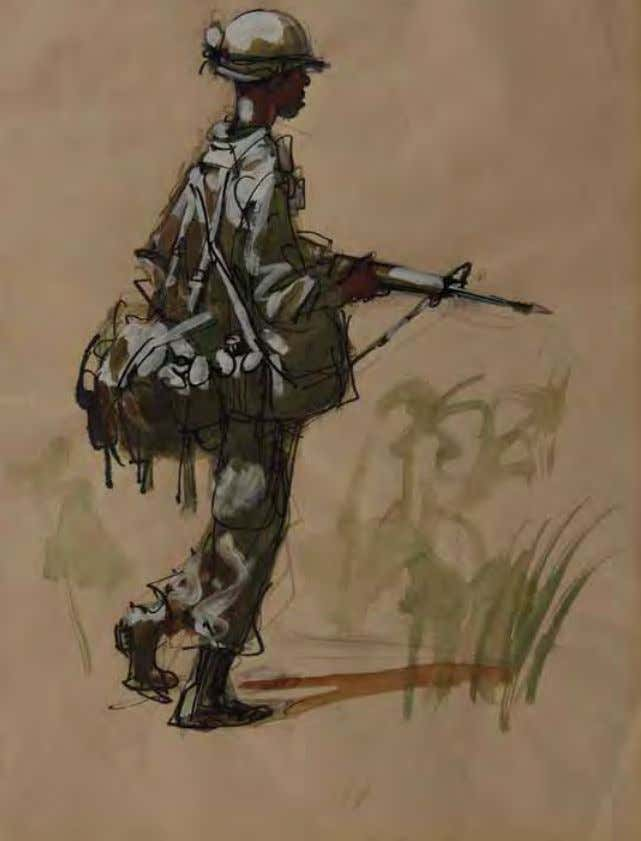On Patrol — Full Pack by William linzee Prescott South Vietnam, 1967 W a t