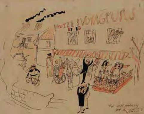 Ludwig Bemelmans, World War II You Will Probably Get a Rousing Welcome from the French 1944
