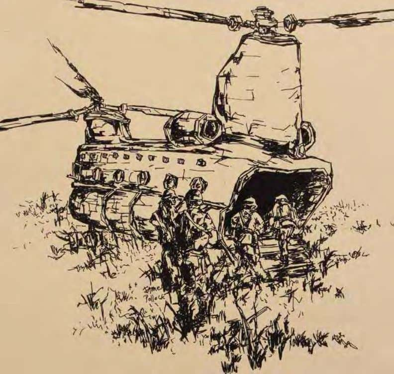 Field Operation by James Pollock vietnam, 1967 Ink on paper In ThE ArTIST'S oWn WorDS