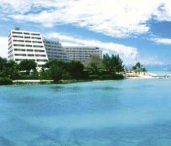 OASIS BEACH & SPA CANCUN This pyramid-shaped 470 room beach front hotel is in the