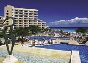 CANCUN PALACE FUN SEEKERS VACATIONS This non-stop, high-energy hotel is situated near Cancun's entertainment area.