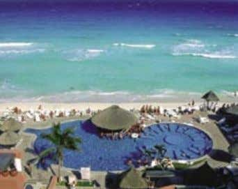 TUCANCUN BEACH RESORT &VILLAS Located at Playa Marlin, 25 minutes from the airport and 30