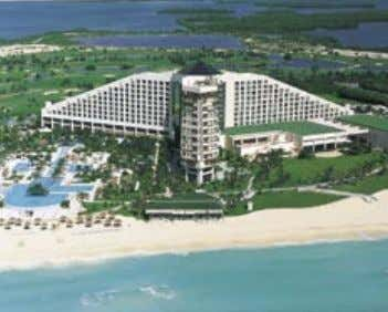 HILTON CANCUN BEACH & GOLF RESORT Only 15 minutes from the Cancun International Airport, and