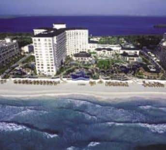 JW MARRIOTT CANCUN RESORT & SPA This resort's most distinctive feature is a three-story, 35,000
