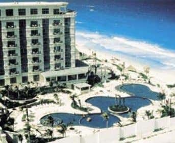LE MERIDIEN CANCUN Bordered by the Caribbean Sea's crystal clear waters on one side and