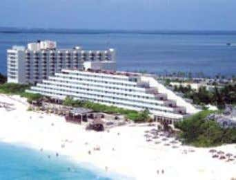 SHERATON CANCUN RESORT AND TOWERS With its Mayan ruins and the pyramid-shaped main building, the