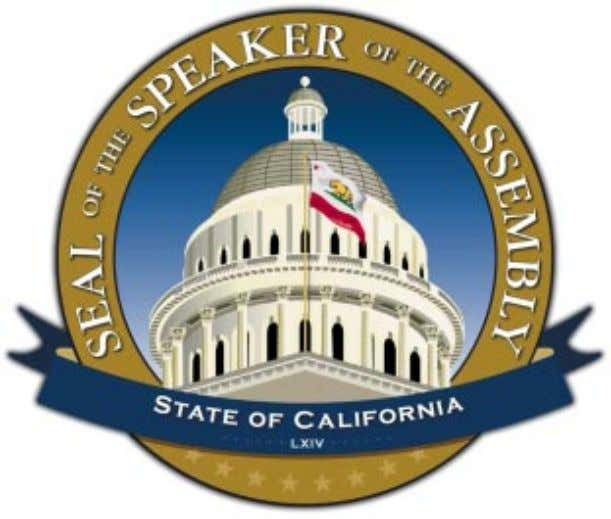 COMMISSION ON THE CALIFORNIA INITIATIVE PROCESS SPEAKER ROBERT M. HERTZBERG DAVID ABEL, COMMISSION CHAIR FINAL REPORT