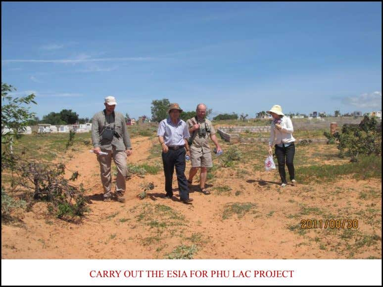 CARRY OUT THE ESIA FOR PHU LAC PROJECT